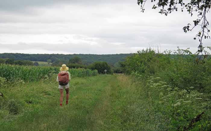 Walking in France: Doubtful weather ahead