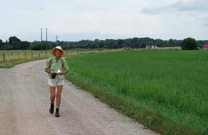 Walking in France: Back in the tranquil countryside