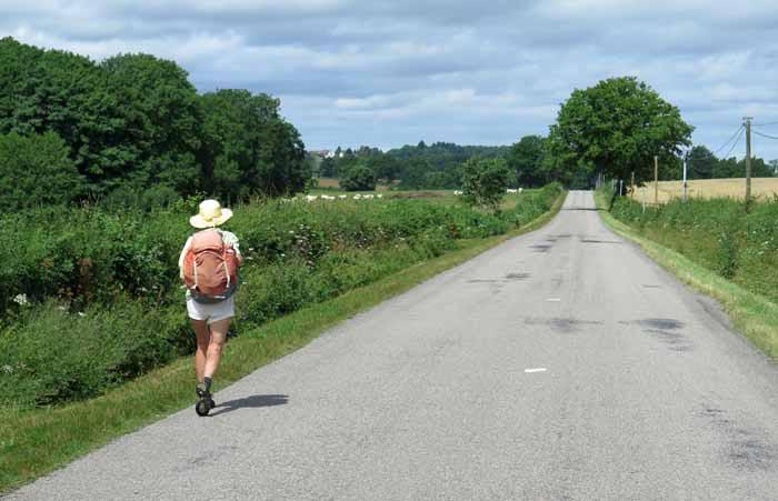 Walking in France: The final leg into Tronget
