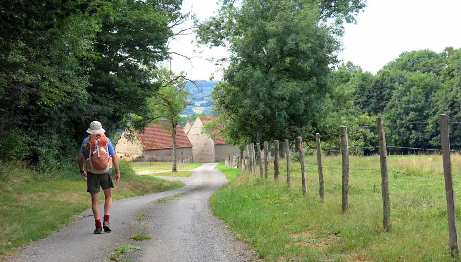 Walking in France: Arriving at les Charlots