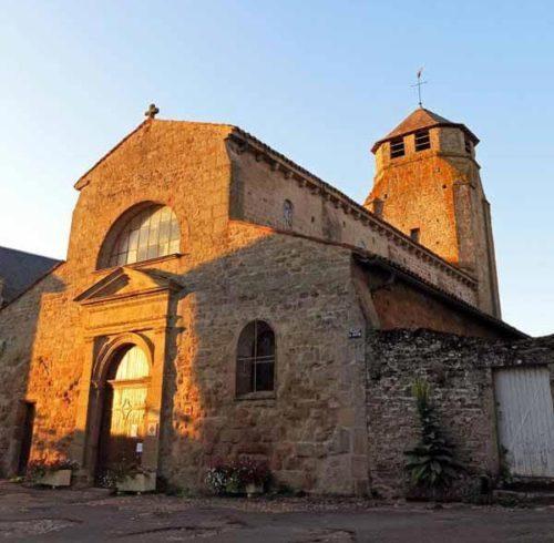 Walking in France: Toulon-sur-Arroux's early twelfth century church