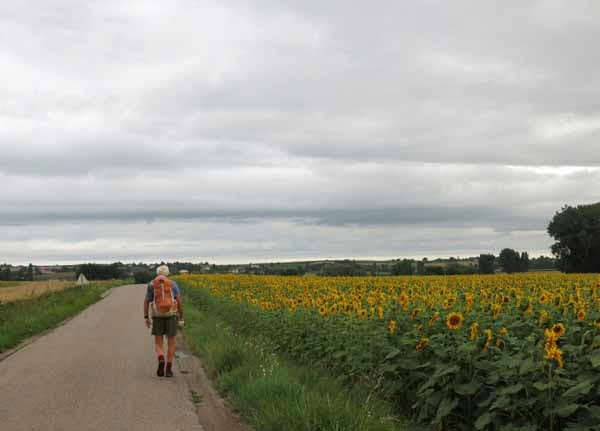 Walking in France: On the way to Saulcet