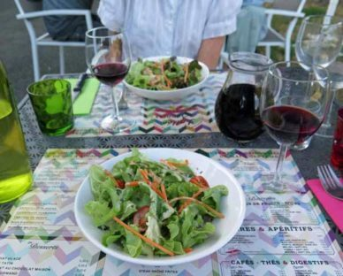 Walking in France: Salads to to start