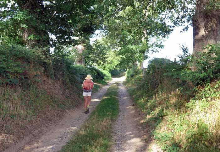 Walking in France: Farewell to Préveranges forever