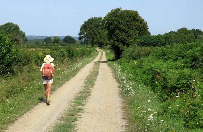 Walking in France: Back in sunshine