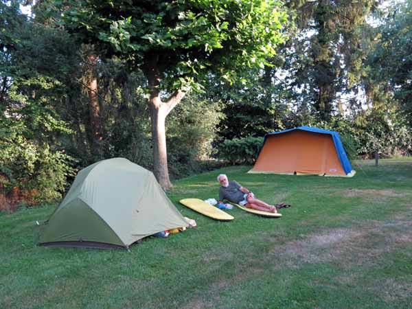 Walking in France: The award-winning Préveranges camping ground