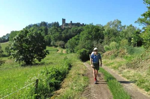 Walking in France: Leaving Polignac