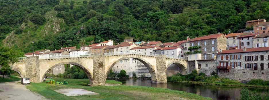 Walking in France: Lavoûte-Chilhac
