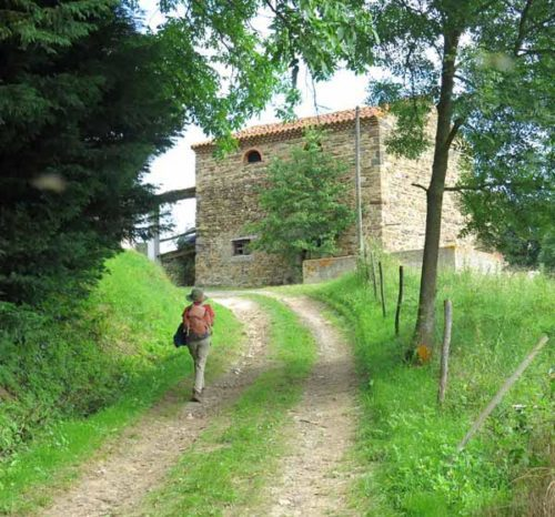 Walking in France: Arriving in Cissac