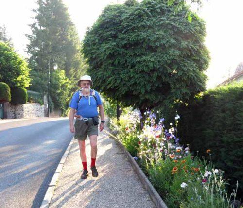 Walking in France: Leaving St-Paulien