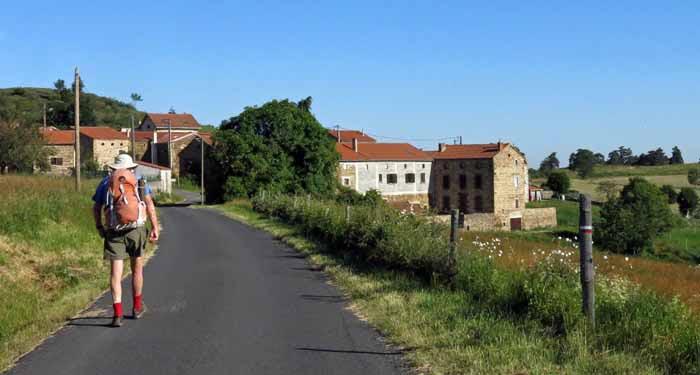 Walking in France: Arriving in Volmadet