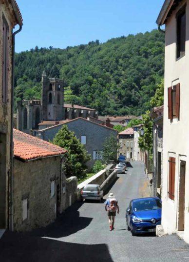 Walking in France: Arriving in Lavoûte-Chilhac