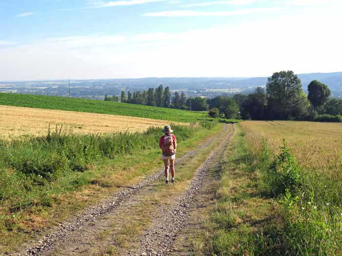 Walking in France: Leaving Billom