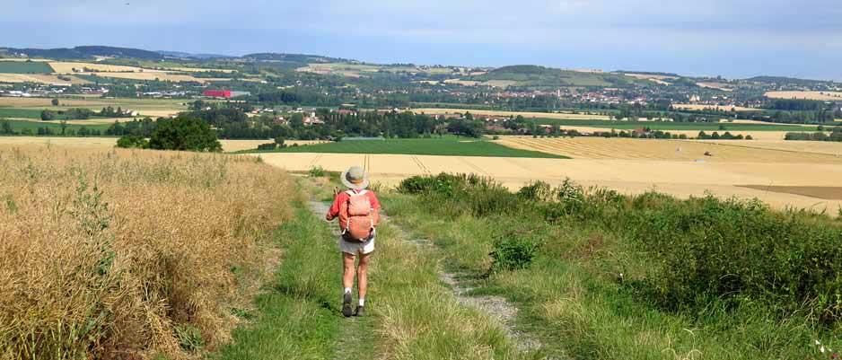 Walking in France: Approaching Gannat