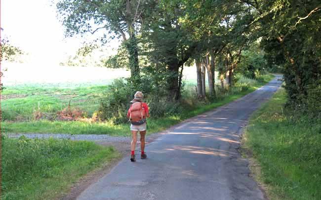 Walking in France: Leaving Gannat