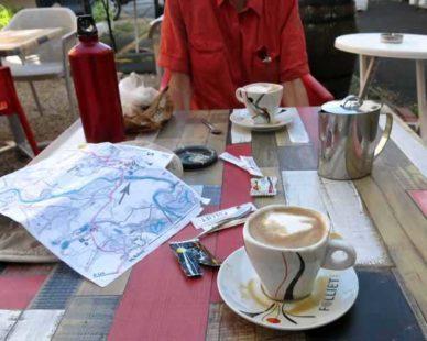 Walking in France: Breakfast in Dorat