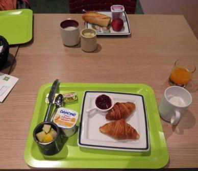 Walking in France: A modest start to a big breakfast