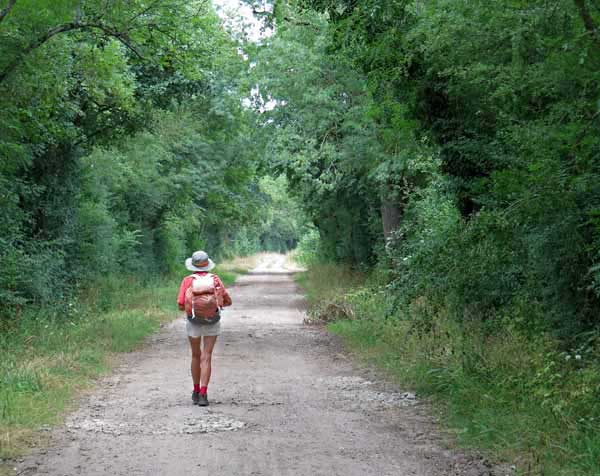 Walking in France: On the way to Nevers