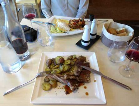 Walking in France: Followed by our mains