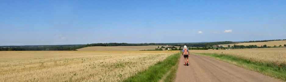 Walking in France: Near la Marche