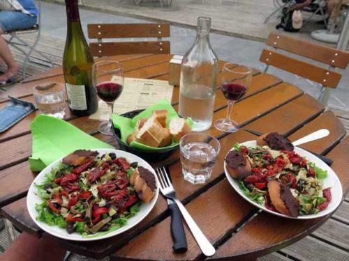 Walking in France: Dinner