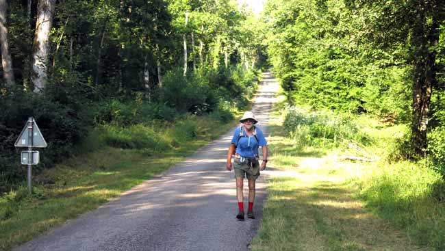 Walking in France: Back on the GR