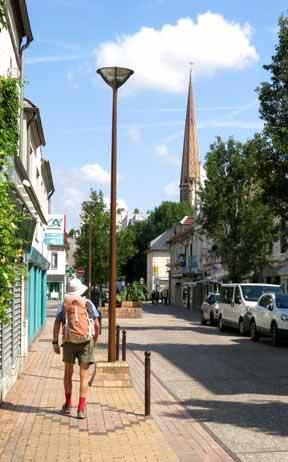Walking in France: Arriving in Migennes